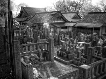 Buddhist Graves (Digital Infrared)
