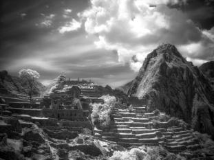 Machu Picchu #7 (Digital Infrared)