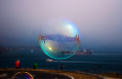 Bubble by the Bridge