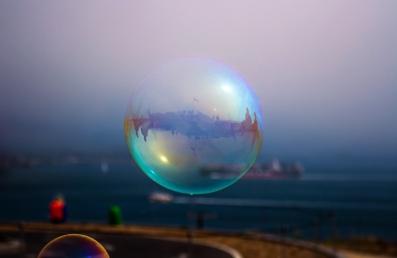 Bubble by the Bridge