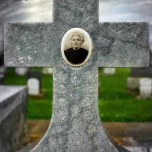 Tintype Headstone #6