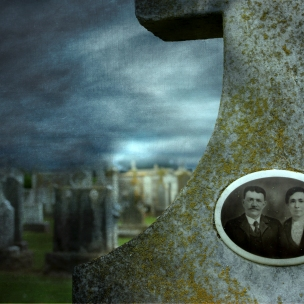 Tintype Headstone #12