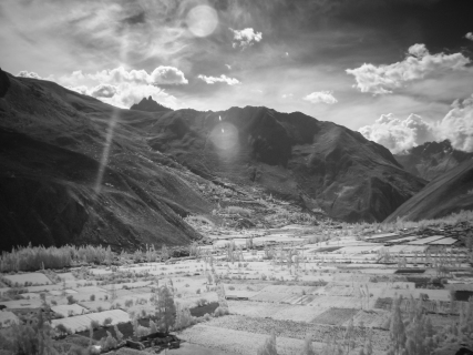 Sun Over the Valley (Digital Infrared)