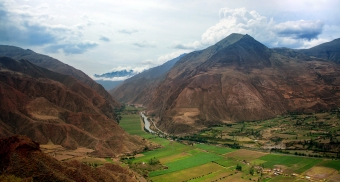 Sacred Valley Peak