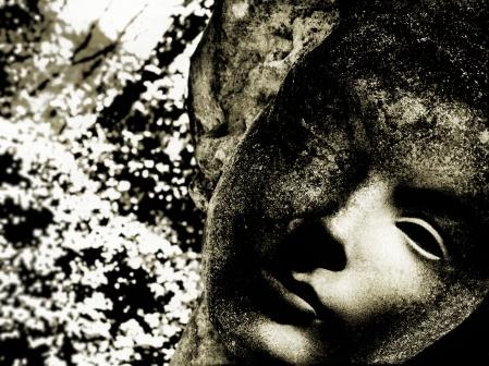 Stone Statue Face