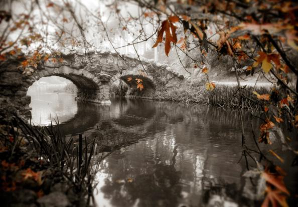 Bridge at Stow Lake