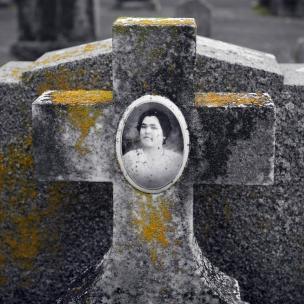 Tintype Headstone #4