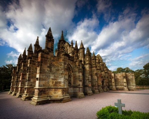Rosslyn Chapel Perspective
