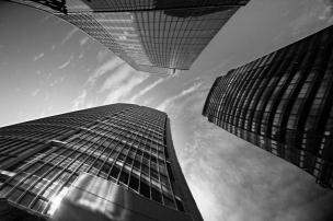 Warped Building Perspecitve